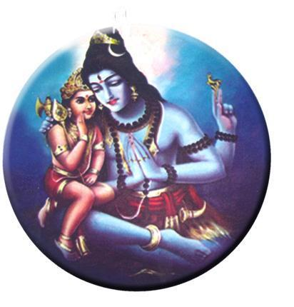 Murugan and Lord Shiva