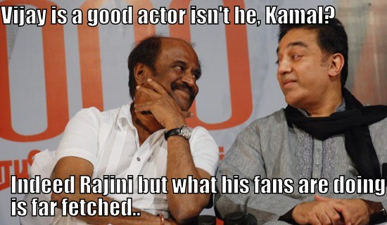 rajini and kamal lauding vijay