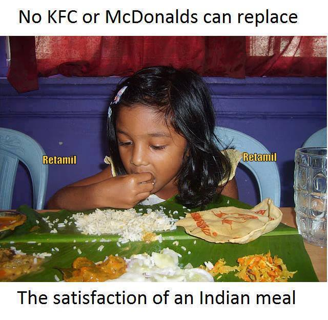 the indian way of not wasting food