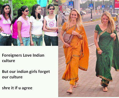 indian girls aren't cultural