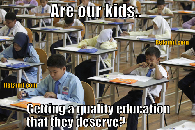 Quality of Malaysian education and how elitism, business & racism affects it