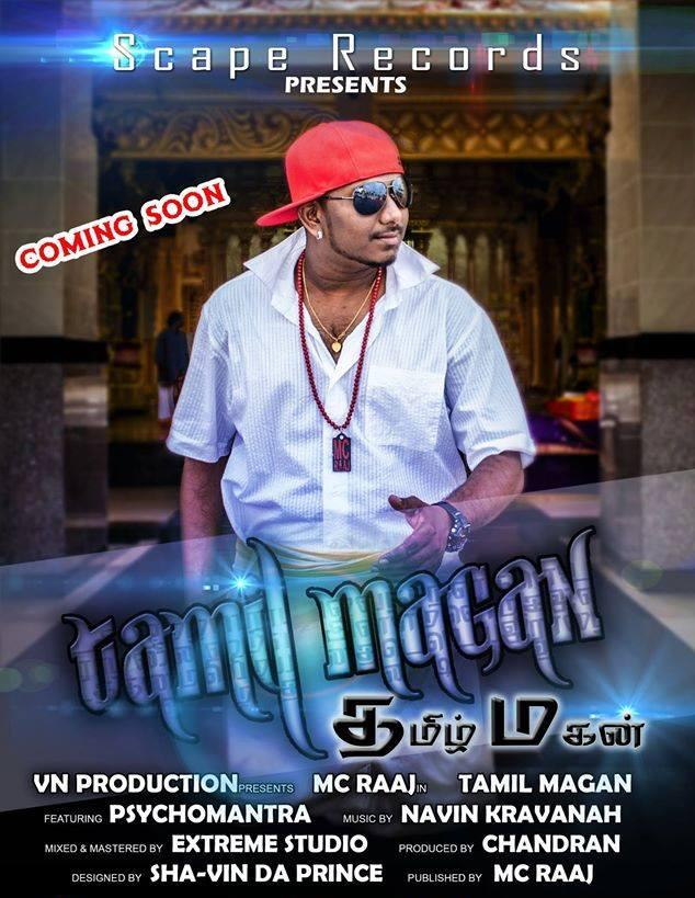 Tamil Magan Single's - Mc Raaj feat. PsychoMantra