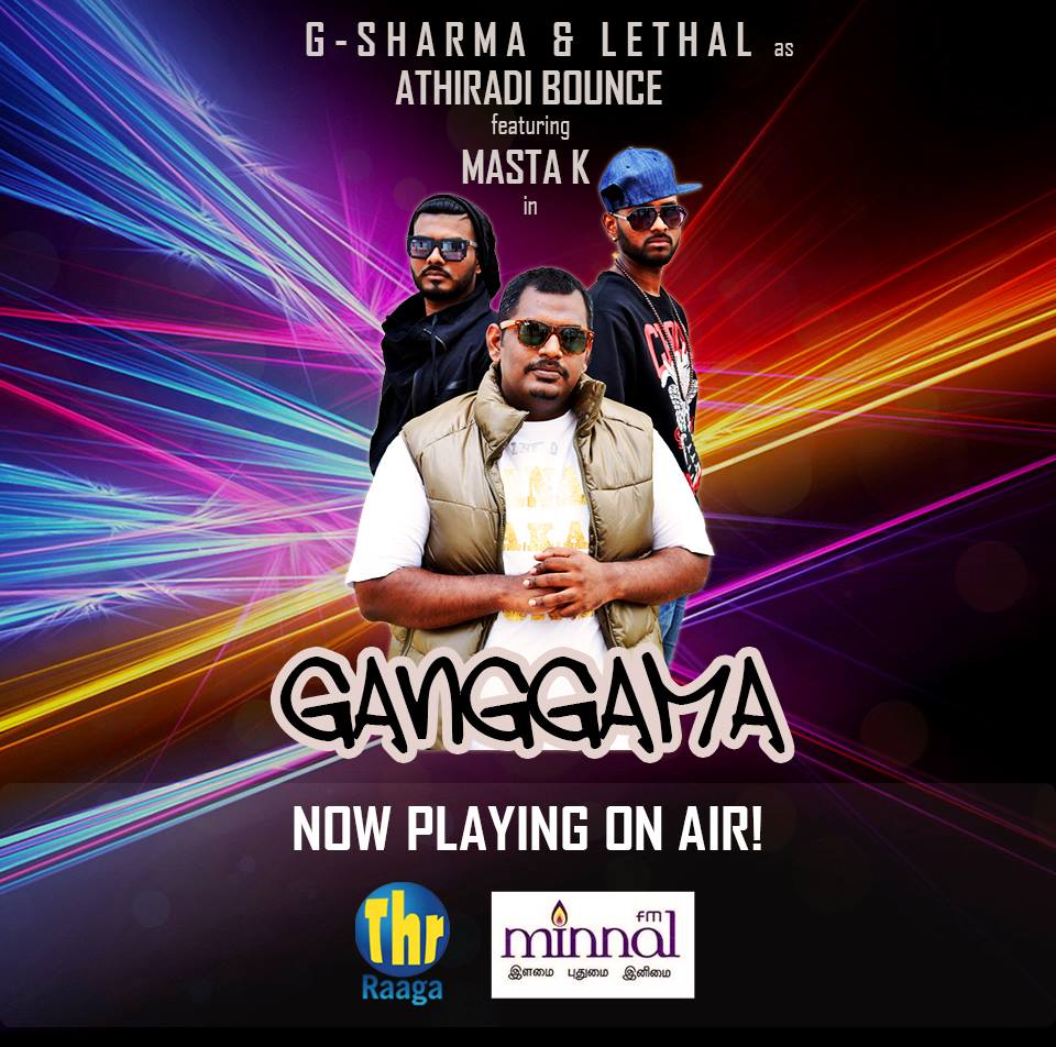 Ganggama Single's - G-Sharma & Athiradi Bounce feat. Masta K