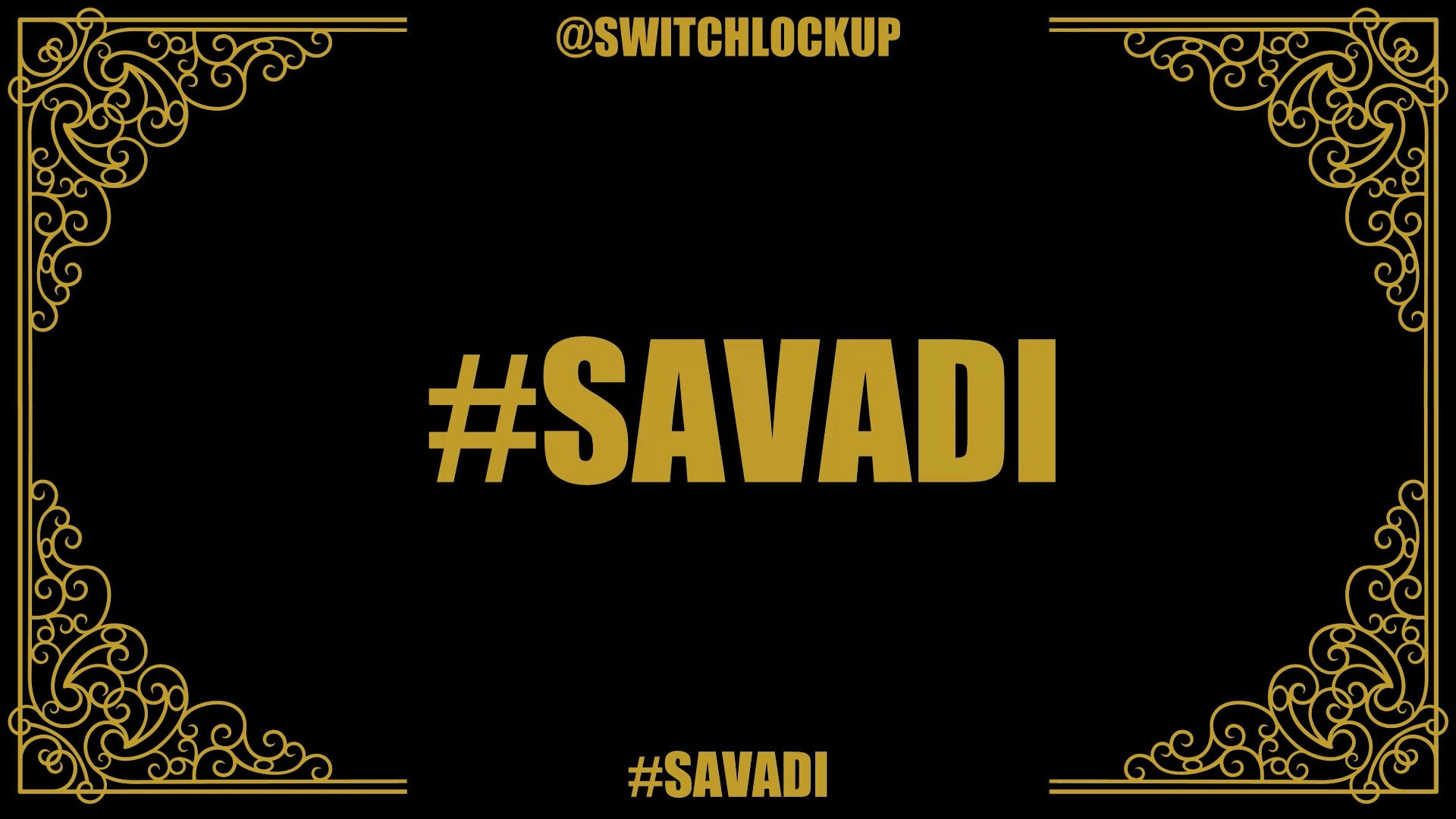 Saavadi Single's Lyrical Music Video - Switch Lock Up