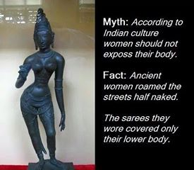 ancient indian woman dressing