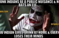 Drinking Indian girls spoil Indian culture?